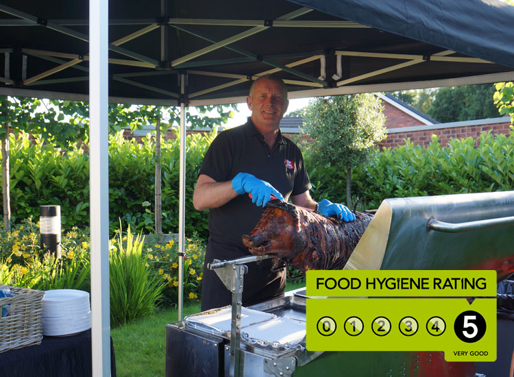 Hot Hog Roast Cheshire